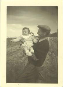 André et Jean-Louis Saget bébé